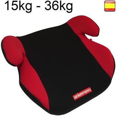 Silla Infantil Coche Cojín elevador niños 22-36kg alzador HOMOLOGADO ECE R44//04