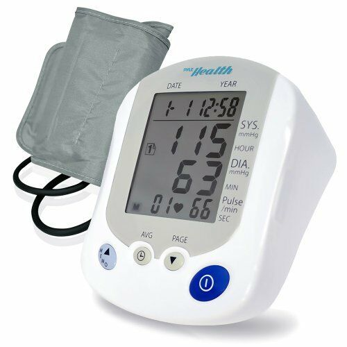 Pyle PHBPB20 Bluetooth Smart Blood Pressure Monitor with Health Tracking App