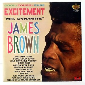 JAMES BROWN EXCITEMENT MR. DYNAMITE LP KING POLYDOR 2489 199 R&B FUNK NMM