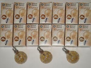 Ampoule-spherique-globe-decor-givre-ambre-GENERAL-ELECTRIC-SUDRON-CROZE-25W-E14