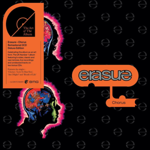 ERASURE 'CHORUS' 3 CD Deluxe Edition - Released 14/02/2020