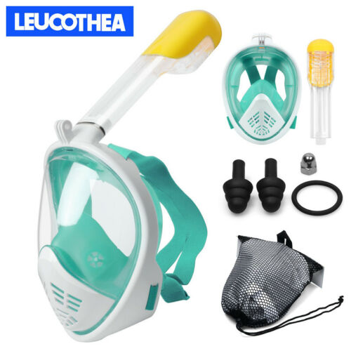 LEUCOTHEA Full Face Snorkel Diving Mask Swimming Snorkeling Water Sport UK Stock