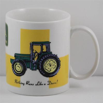 John Deere Nothing Runs Like a Deere Coffee Cup Mug Farm Gibson