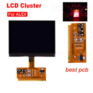 New-LCD-For-Audi-A3-A4-A6-Durable-Replacement-Cluster-Speedometer-Display-Screen