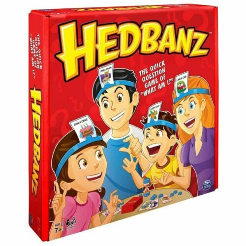 Board Game Spin Master Hedbanz Second Edition What Am I