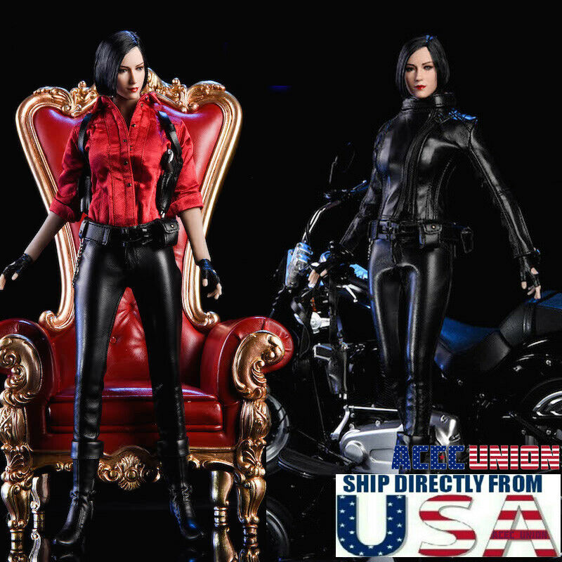 1 6 Ada Wong Resident Evil Leather Suit Set For 12  PHICEN TBL Hot Toys Figure