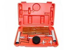61pcs Tire Repair Kit Diy Flat Car Truck Motorcycle Plug Patch Stem Core Tool