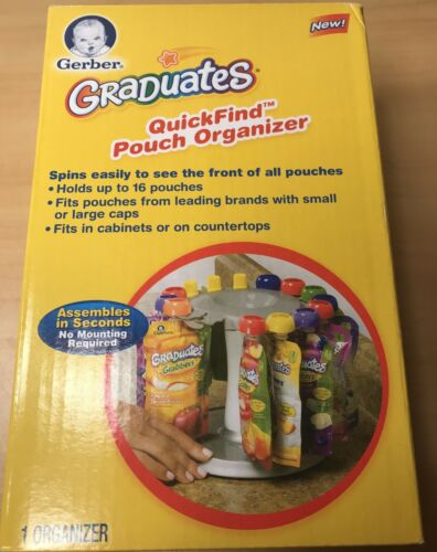 Gerber Graduates Quick-Find Pouch Organizer Holds Up to 16 Pouches
