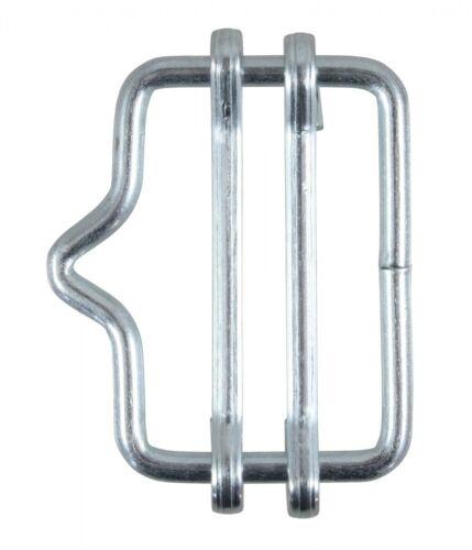hebilla de conexión para pradera con nariz 5x banda conector hasta 20mm cincado