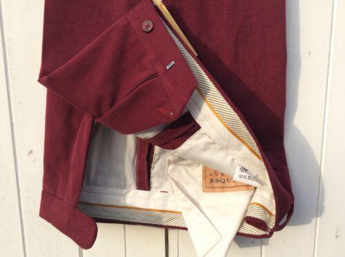 Cranberry RRP £59.95 Our Price £29.95 Men's Drill Cotton trouser 100/% Cotton