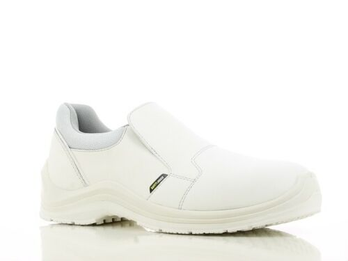 35-48 GUSTO81 S3 Safety Shoes Slipper White Catering Kitchen Chefs Shoes Sz