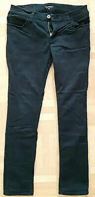Japanische Damenhose Hose Purple & Yellow Women Pants Elastic Black L 56-02pm20