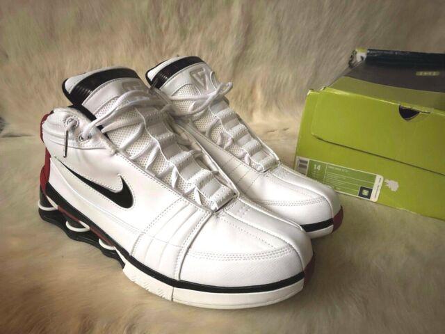 more photos 765c4 8a710 Nike Shox VC 4 Vince Carter Basketball Men Size 14 Shoes 310379 101   Mint