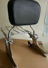 Detachable Backrest Sissy Bar Luggage rack Harley Davidson Softail 200mm 06 UP