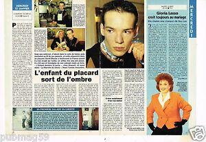 Coupure de presse clipping 1993 1 page 1 2 david bisson - David l enfant du placard ...