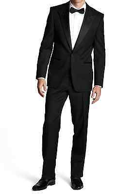 HUGO BOSS LUXUS ANZUG CARY/GRANT Gr 56 XL NEU TUXEDO SMOKING 46R BLACK WEDDING