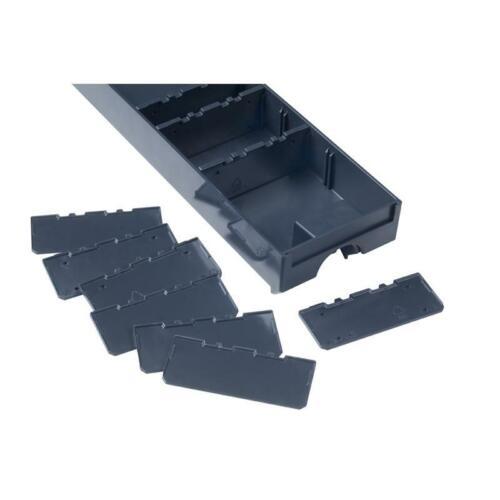 Tano 10 trennstege petit pour tiroirs Systainer Anthracite