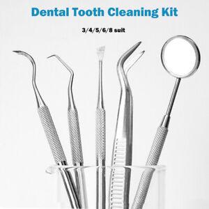 Kit-Di-Pulizia-Dentale-Scaler-Denti-Raschietto-Igiene-Orale-Dental-Dentista