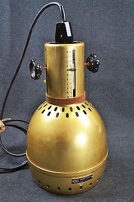 Labor Stativ Lampe Tripod Leuchte Spot Strahler Ilmenau Design Loft Industrial