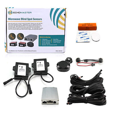 Car & Truck Parts Popular Brand Echomaster Pbs-mwsk Sensor Side Blind Spot Detection System Microwave