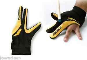 New-Predator-LEFT-Hand-Logo-Pool-Glove-L-XL-One-Size-Large-Ex-large