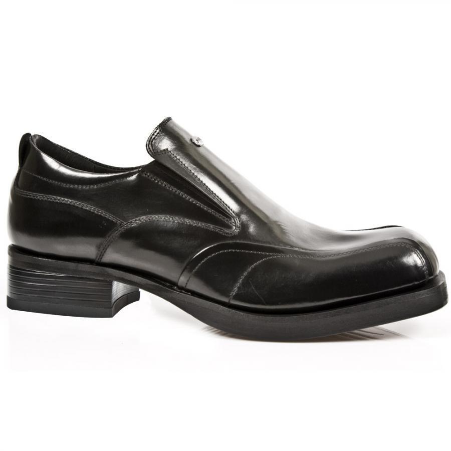 Schuhe Junge Nr Angebot Schuhe Leder Mann NEW ROCK Original -neueste Größen- M
