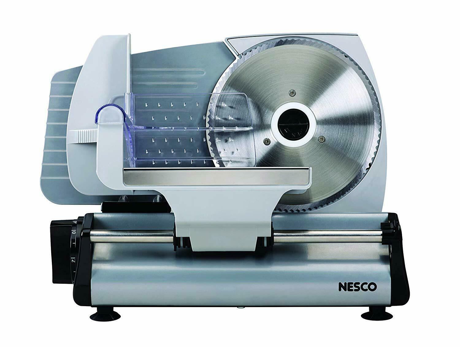 Nesco Electric fromage cutter Food Meat Coupe 7.5 pouces Lame pain trancher Home