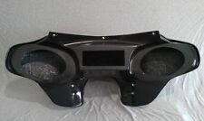 Harley Davidson Road King Motorcycle Batwing Fairing Fiberglass 2 Speaker