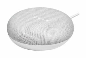 Brand New SEALED Google Home Mini  Speaker Smart Assistant  Chalk Grey