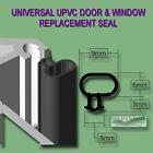 UNIVERSAL BLACK SEAL UPVC DOOR WINDOW DOUBLE GLAZING REPLACEMENT RUBBER GASKET