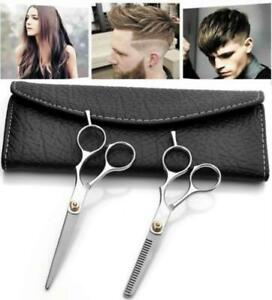 Salon-Professional-Barber-Hair-Cutting-Thinning-Scissors-Shears-Hairdressing-Set