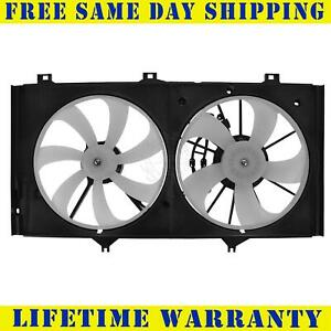Radiator And Condenser Fan For Toyota Venza Lexus ES350 TO3117101