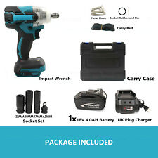 New Listing12 Cordless Electric Impact Wrench Rattle Nut Gun Led For 7800 Li Ion Battery