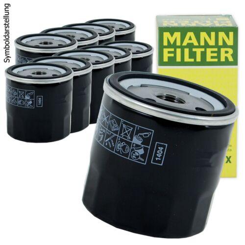 Astra G CC Astra F CC 10x hombre-filtro filtro aceite w712//75 para Opel Ascona C cc