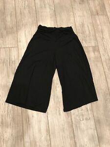 EUC-WHBM-womens-black-balloon-stretch-pants-size-Small-rayon