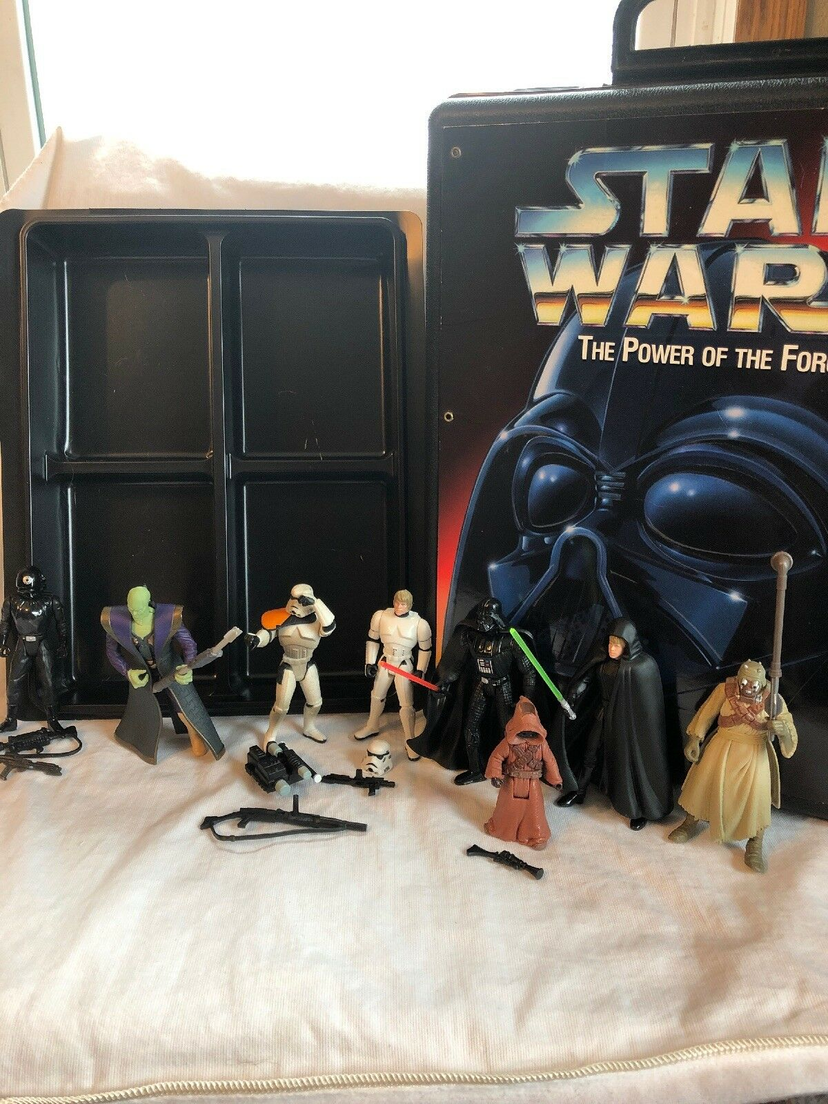 Vintage Star Wars Kenner 1996 The power of the Force Lot