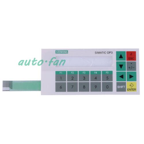 HMI Membrane Keypad Film for SIEMENS OP3 6AV3503-1DB10 OP3 Operate Panel