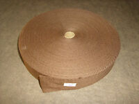 Military Surplus Fabric Strap (1.25 Inch By 20 Feet) - Brown