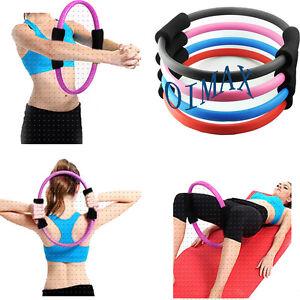 Pilates Ring Magic Circle Dual Grip Sporting Goods Yoga ...