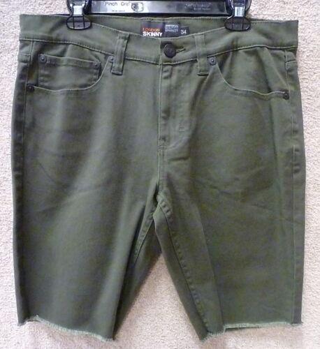 "Men/'s Shorts /""London Skinny/"" Color Green RS"