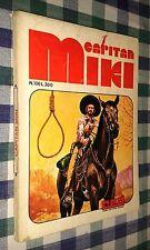 SERIE ALTERNATA CAPITAN MIKI / BLEK # 106 - 1974 - CASA EDITRICE DARDO