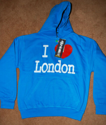 Show your supprt Red Cross Chairty donation I Love London Hoodies BNWT