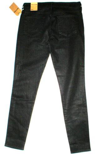 Religion Nye Nwt True Grey Brand 887150440173 Jeans Halle Black Houndstooth Skinny kvinder 31 RtrRY