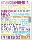 For My Eyes Only Locking Journal (Diary, Notebook) by Peter Pauper Press, Inc (Hardback, 2014)