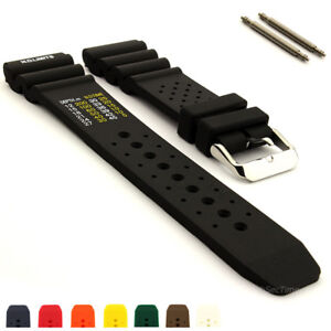 497b86398d1 Image is loading ND-Limits-Silicone-Rubber-Waterproof-Watch-Strap-Band-