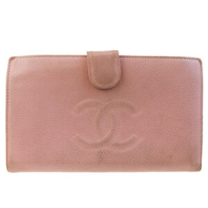 Image is loading Authentic-CHANEL-CC-Long-Bifold-Wallet-Purse-Caviar- 428c90bc3a0
