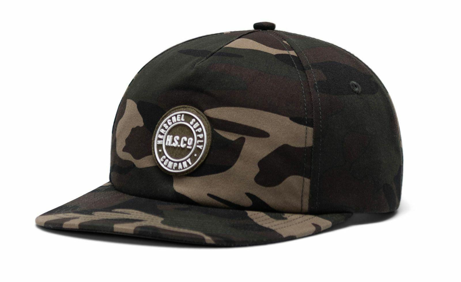 Herschel Scout Felt Patch Hat Cap Accessoire Grün