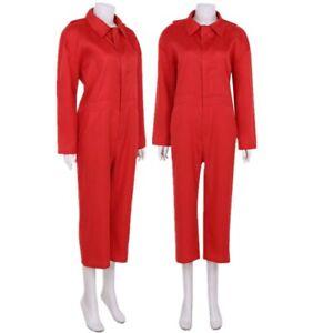 Men-Women-Horror-Film-Cosplay-Red-Jumpsuit-Halloween-Uniform-Costume-Unitard