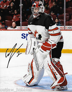 Details about Team Canada Connor Ingram Autographed Signed 8x10 WHL Photo  COA B