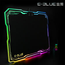LED Lighting Hard Gaming Mouse Mice Pad Mat with Anti-slip Rubber 39 * 28cm